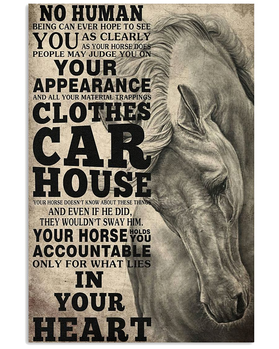 Horse Girl - Your horse holds you accountable  11x17 Poster