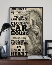 Horse Girl - Your horse holds you accountable  11x17 Poster lifestyle-poster-2