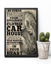 Horse Girl - Your horse holds you accountable  11x17 Poster lifestyle-poster-8
