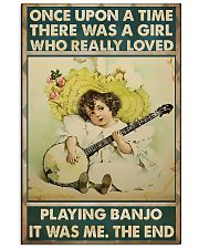 Girl Loved Playing Banjo 11x17 Poster front