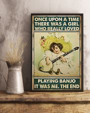 Girl Loved Playing Banjo 11x17 Poster lifestyle-poster-3