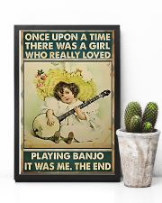 Girl Loved Playing Banjo 11x17 Poster lifestyle-poster-8