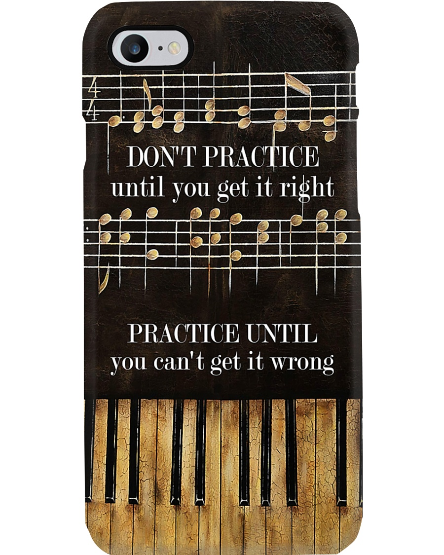 Pianist Practice Until You Can't Get It Wrong Phone Case