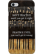 Pianist Practice Until You Can't Get It Wrong Phone Case i-phone-7-case