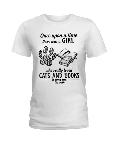 Cats and Books Girl