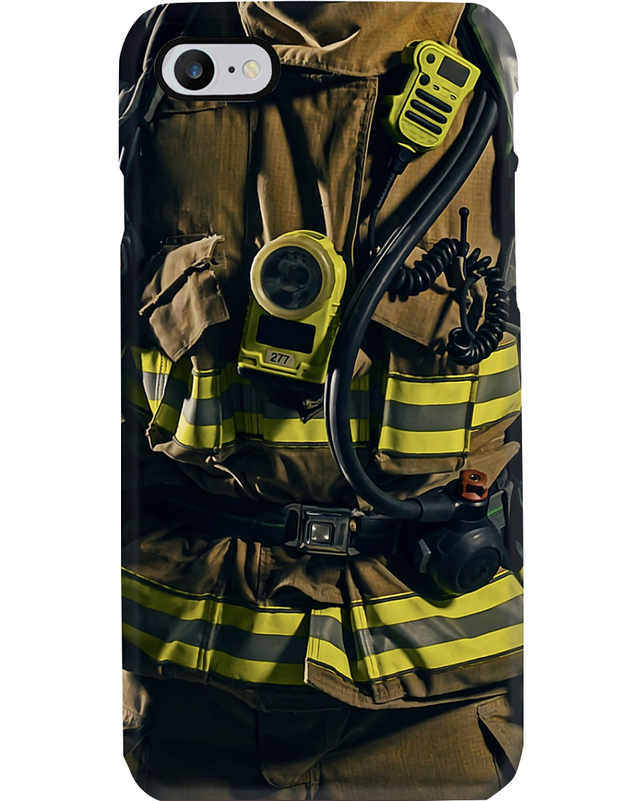 Firefighter Suit Phone Case