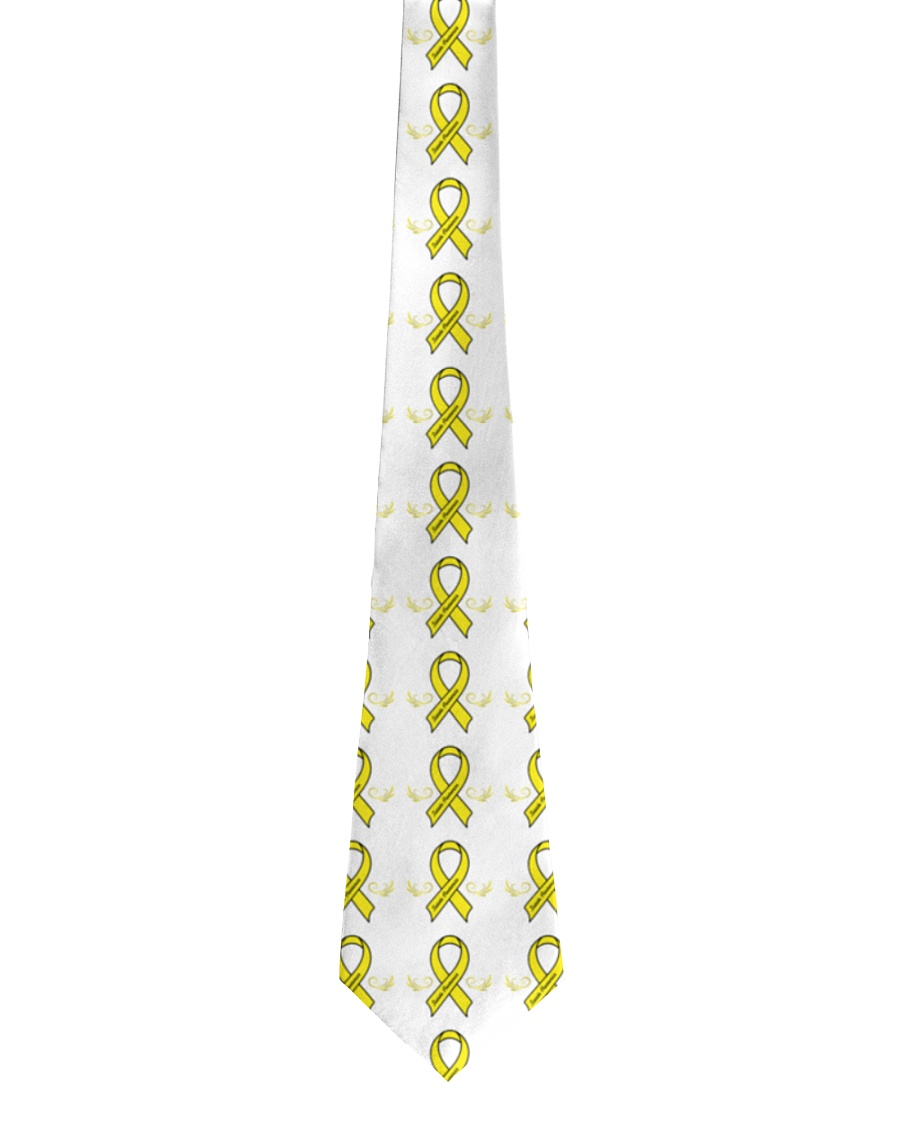 Wing Ribbon Suicide Prevention Tie