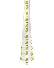 Wing Ribbon Suicide Prevention Tie front