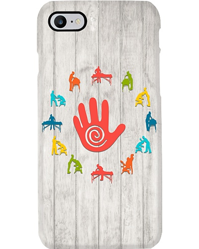Massage Therapist Colorful Phone Case