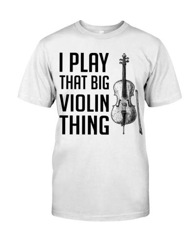 Cello - I play that big violin thing
