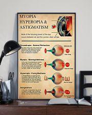 Optometrist Myopia Hyperopia 11x17 Poster lifestyle-poster-2