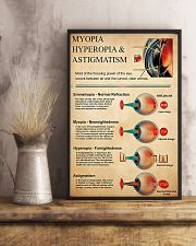 Optometrist Myopia Hyperopia 11x17 Poster lifestyle-poster-3
