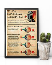 Optometrist Myopia Hyperopia 11x17 Poster lifestyle-poster-8