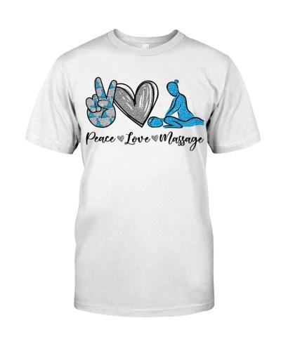 Massage Therapist Peace Love Massage