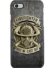 Firefighter First in last out Phone Case i-phone-8-case