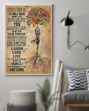 Yoga Today Is A Good Day 11x17 Poster lifestyle-poster-1