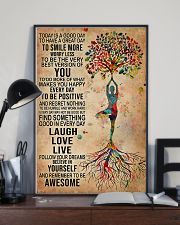 Yoga Today Is A Good Day 11x17 Poster lifestyle-poster-2