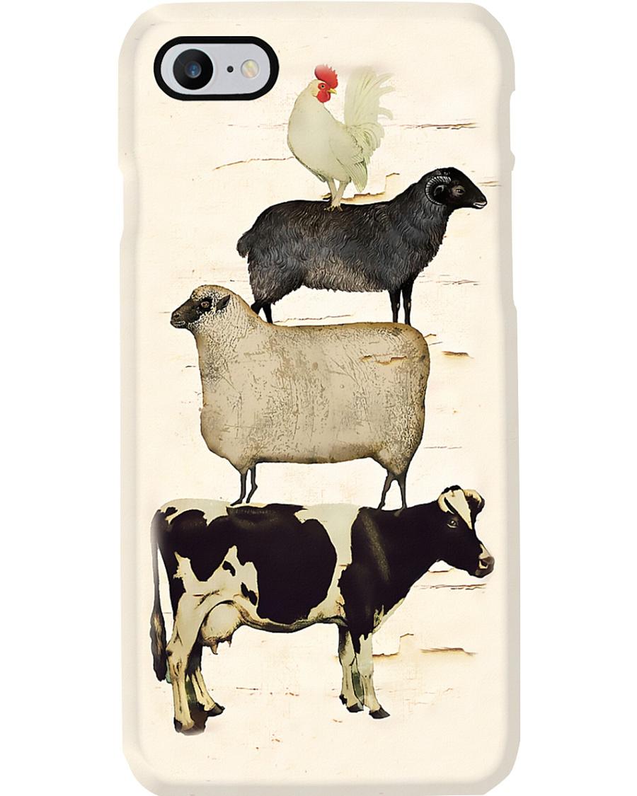Farmer Animals On The Farm Phone Case