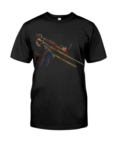 Trombonist Trombone Player Art