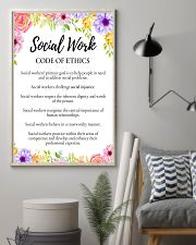 Social Worker Code Of Ethics 11x17 Poster lifestyle-poster-1
