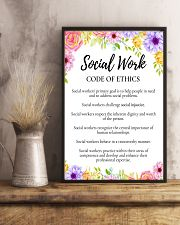 Social Worker Code Of Ethics 11x17 Poster lifestyle-poster-3