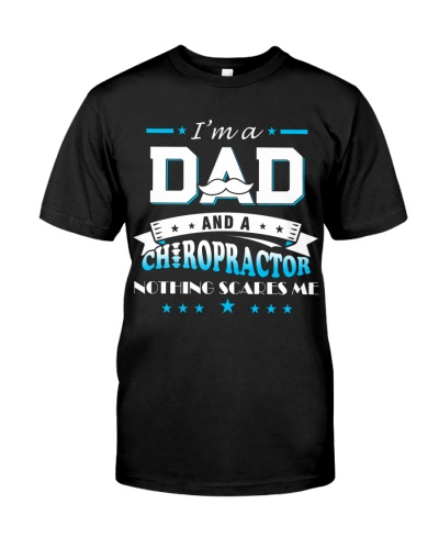 I'm a dad and a chiropractor nothing scares me