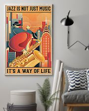 Saxophone Jazz Isn't Just Music It's A Way Of Life 11x17 Poster lifestyle-poster-1