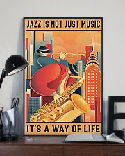 Saxophone Jazz Isn't Just Music It's A Way Of Life 11x17 Poster lifestyle-poster-2