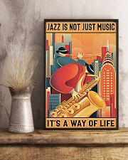 Saxophone Jazz Isn't Just Music It's A Way Of Life 11x17 Poster lifestyle-poster-3