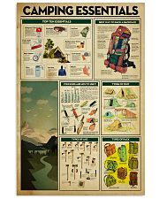 Camping Essentials 11x17 Poster front