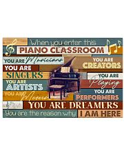 Pianist Piano Classroom 17x11 Poster front