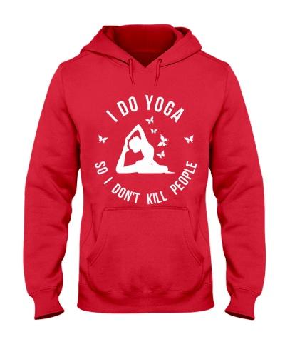I do yoga so I don't kill people