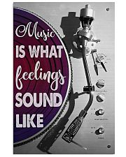 DJ Music Is What Feelings Sound Like 11x17 Poster front