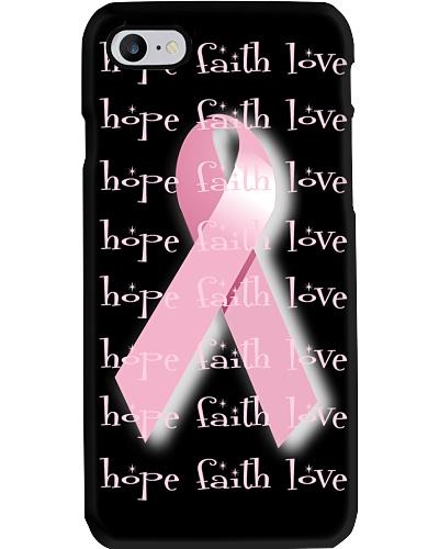 Breast Cancer Awareness Pink Phonecase