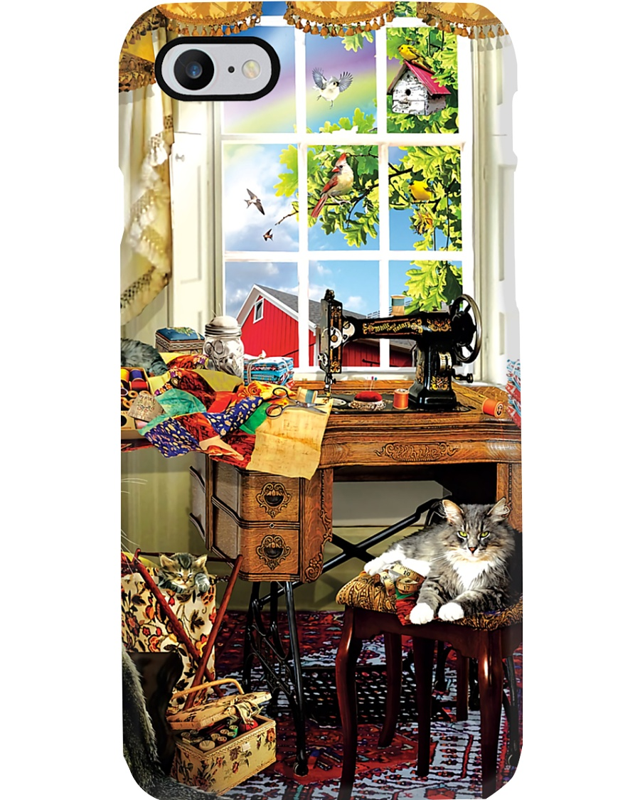 Beautiful Scene With Sewing Machine  Phone Case