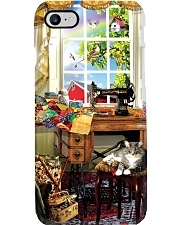 Beautiful Scene With Sewing Machine  Phone Case i-phone-7-case