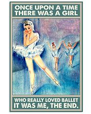 Ballet - There Was A Girl Who Really Loved Ballet 11x17 Poster front