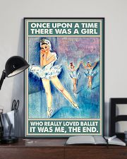 Ballet - There Was A Girl Who Really Loved Ballet 11x17 Poster lifestyle-poster-2