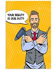 Hairdresser Your Beauty Is Our Duty 11x17 Poster front