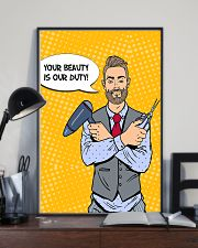Hairdresser Your Beauty Is Our Duty 11x17 Poster lifestyle-poster-2