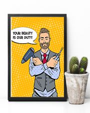 Hairdresser Your Beauty Is Our Duty 11x17 Poster lifestyle-poster-8