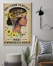 Library A Wonderful World  11x17 Poster lifestyle-poster-1