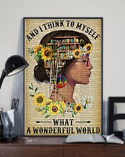 Library A Wonderful World  11x17 Poster lifestyle-poster-2