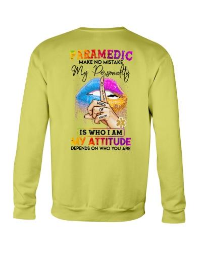 Paramedic Make No Mistake My Personality