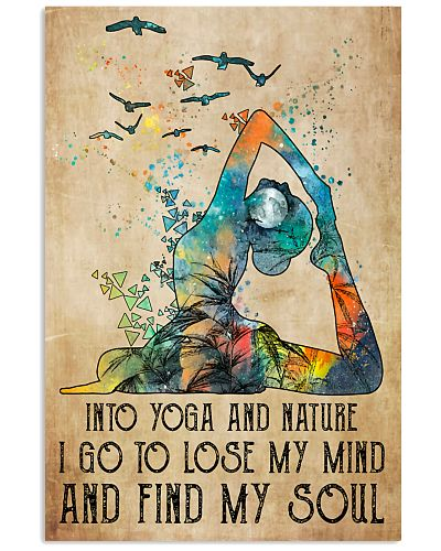 Into yoga I go to lose my mind and find my soul