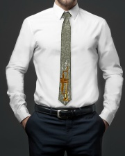 Trumpet Player Gift Tie aos-tie-lifestyle-front-01