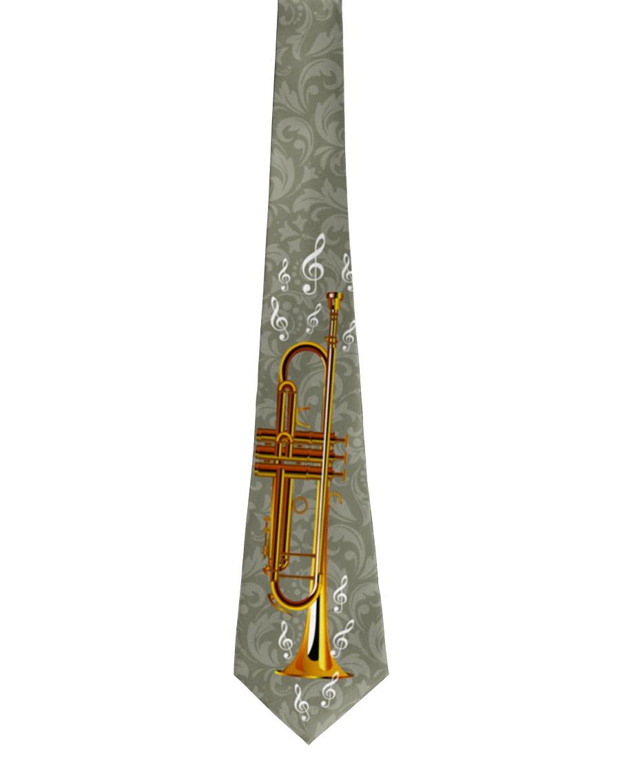 Trumpet Player Gift Tie