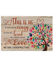 We are Chiropractors 17x11 Poster front