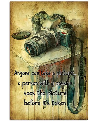 Photography Passion Canvas Camera