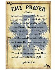 Paramedic EMT Prayer 11x17 Poster front
